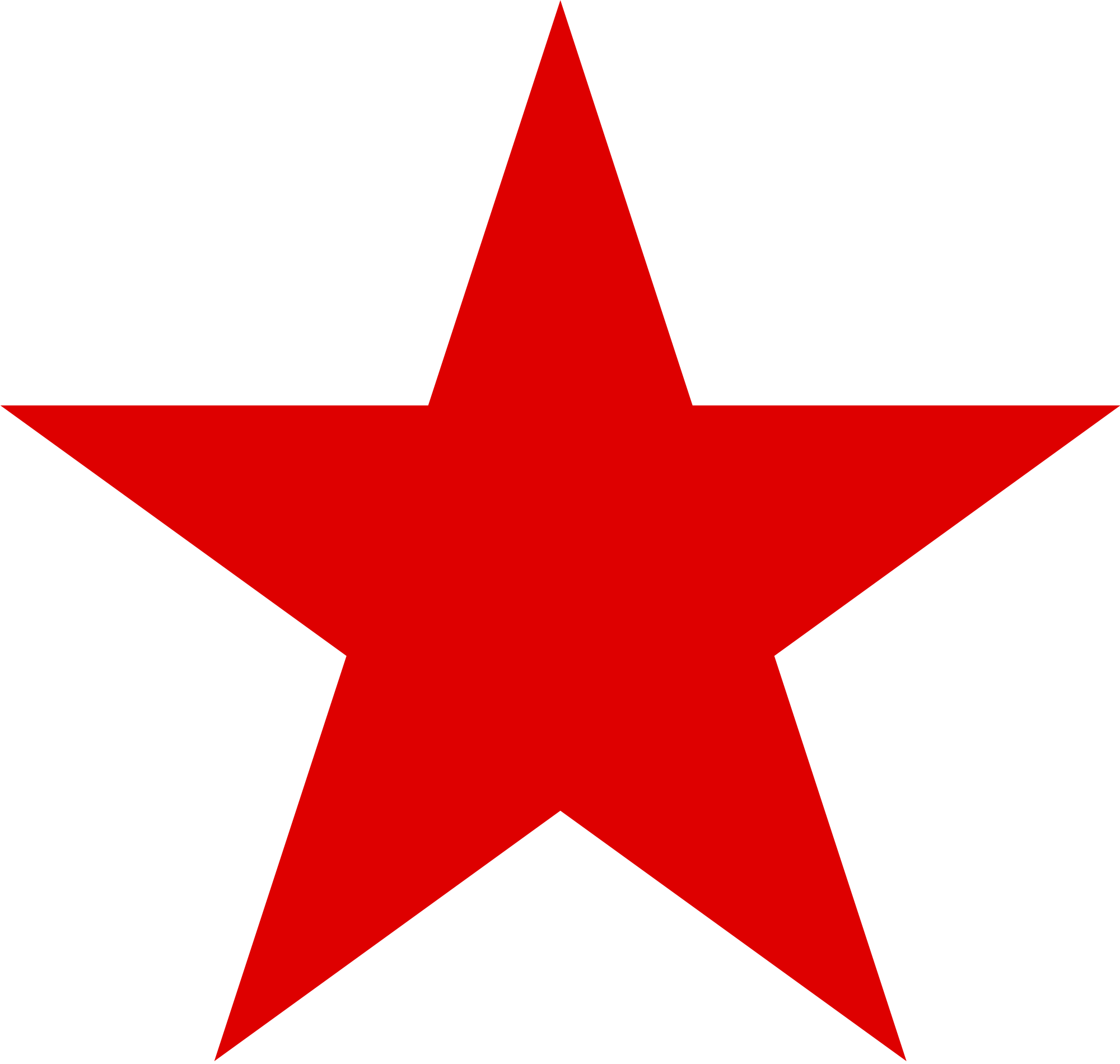 Red star png. Image purepng free transparent