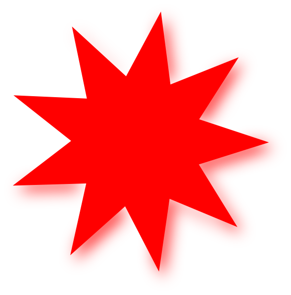 Red stars png. Free star picture download
