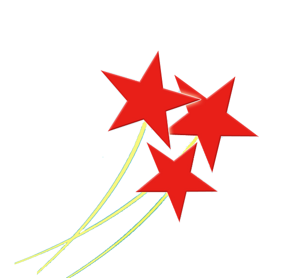 Star transparent images pictures. Red stars png clip