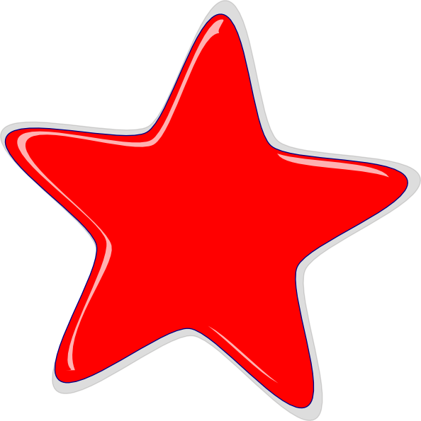 Red stars png. Star clip art at