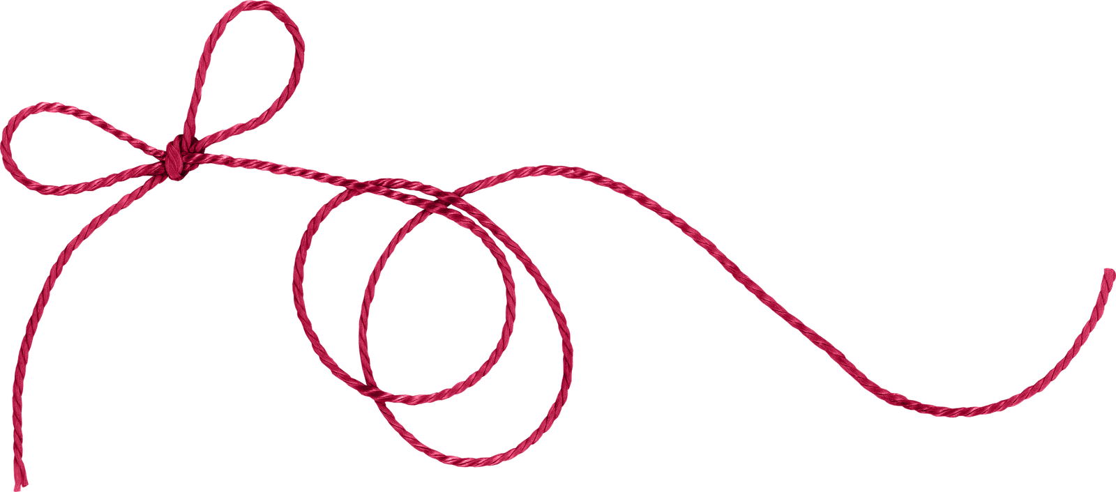 Red string png. Twine thread of fate