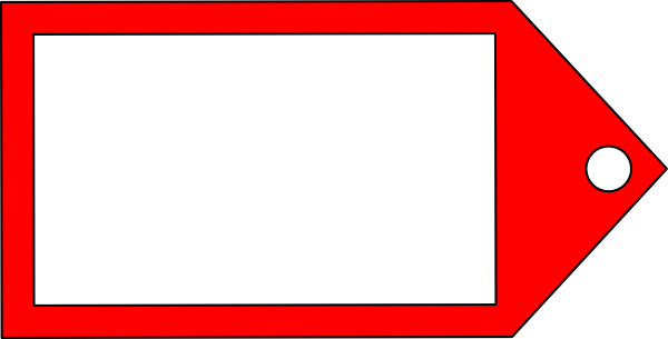 Red tag png. Clip art at clker