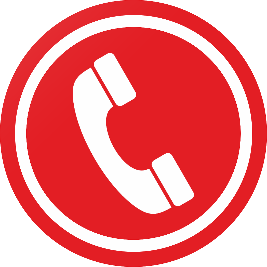 Red telephone icon png. Phone image with transparent