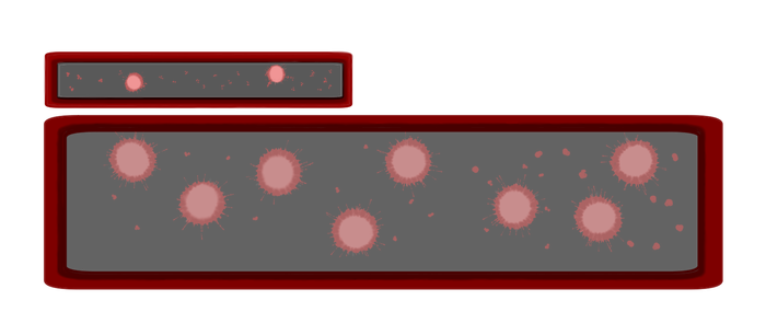 Transparent textbox game. Text boxes on visual