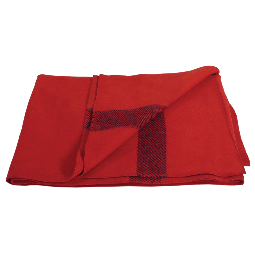 transparent blanket red
