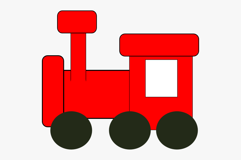 Red train. Front grill clipart png