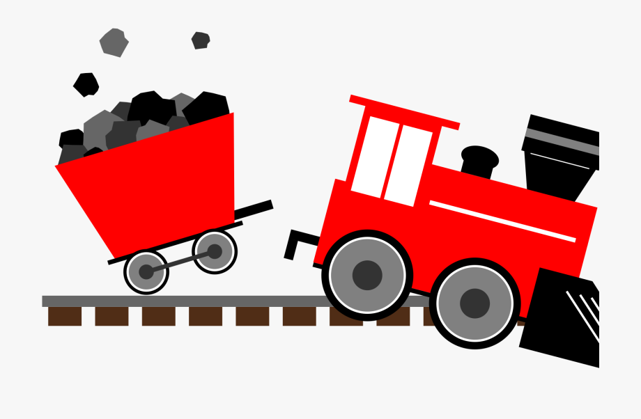 Red train. Engine clipart free cliparts