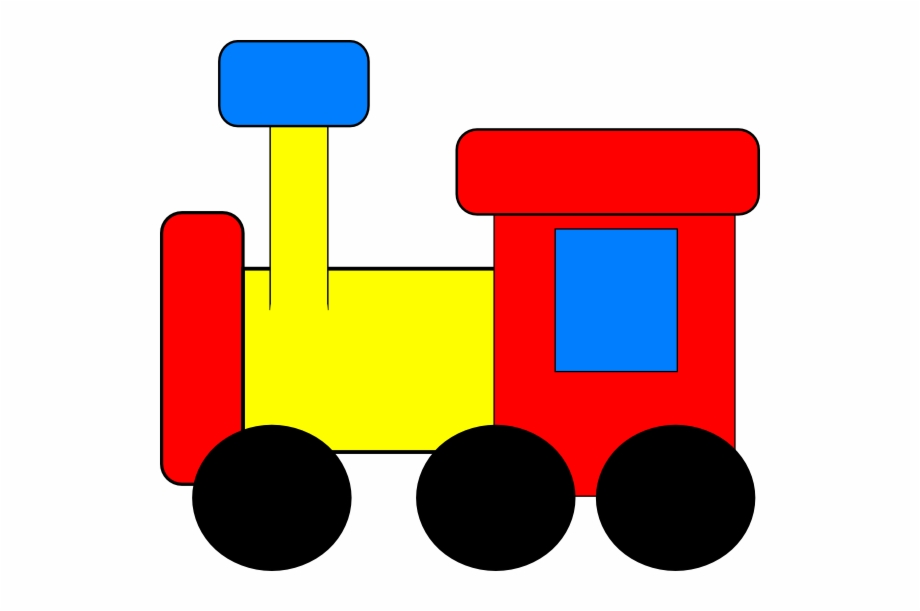 Red train. Clipart transparent png download