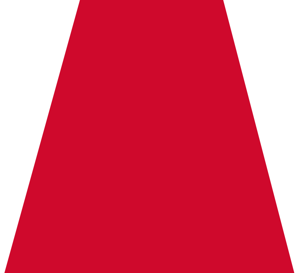 Red trapezoid png. Lava brands branding advertising