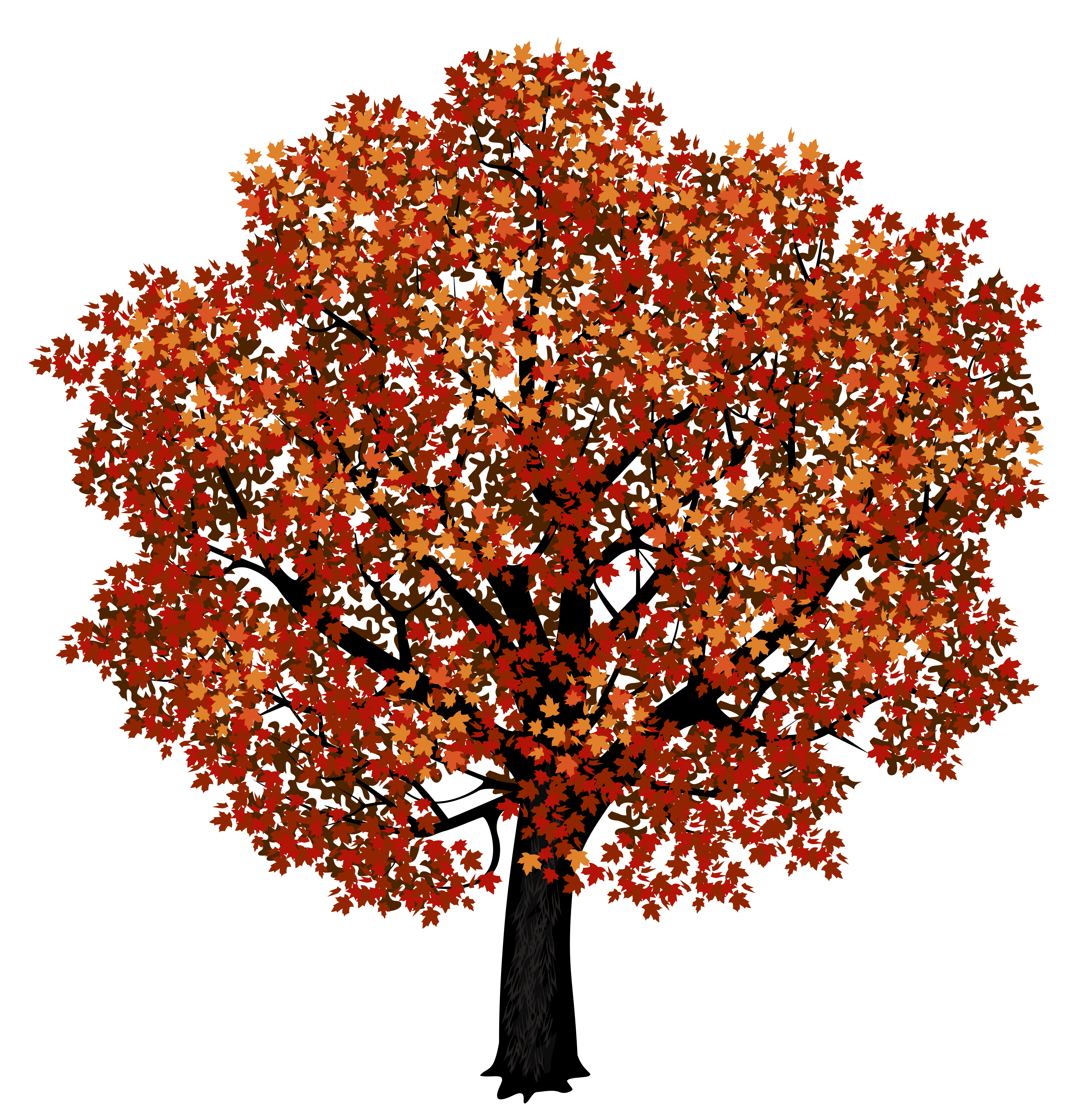 Red tree png. Maple clipart picture gallery