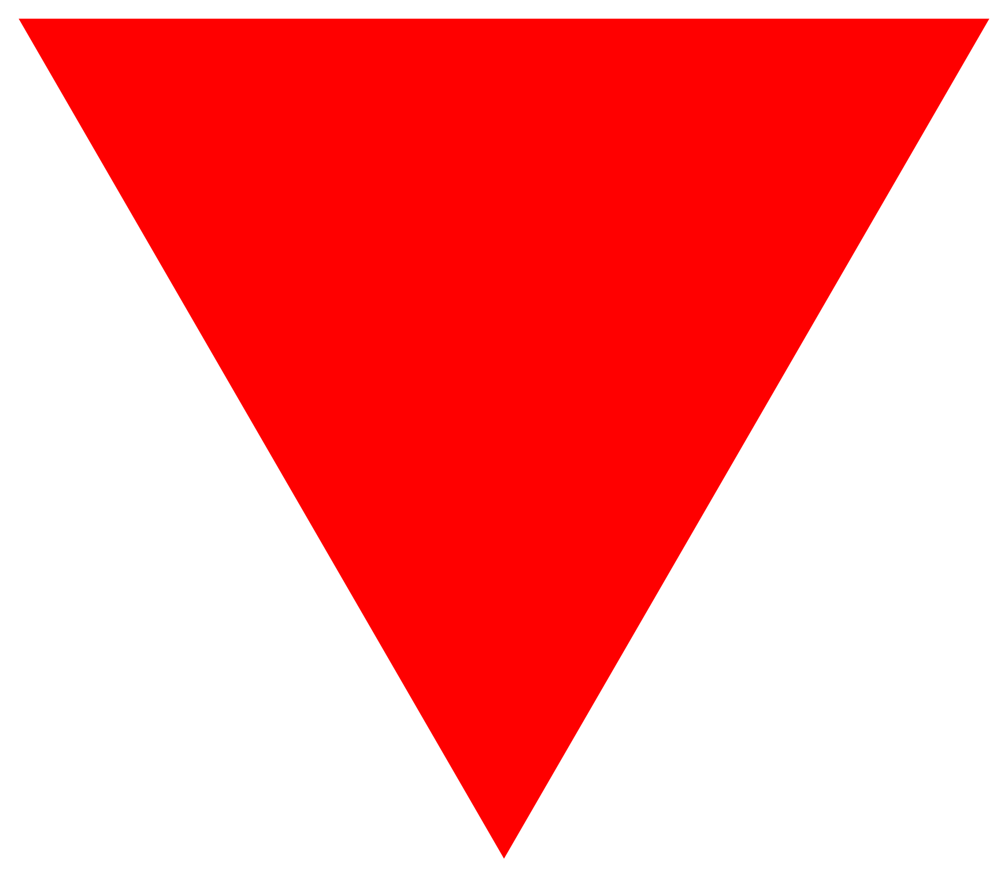 Red triangle png. File svg wikimedia commons