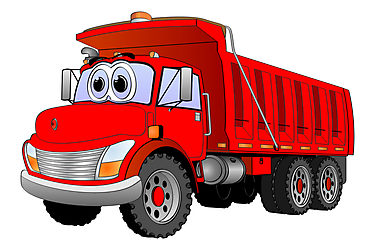 Red truck. Free cliparts download clip