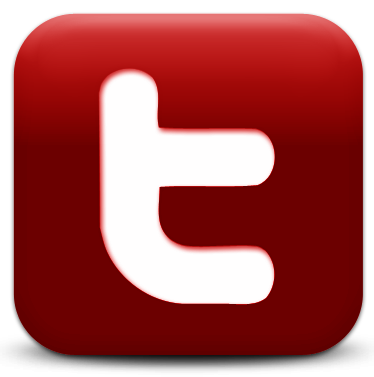 Red twitter png. Logo etm facebook youtube