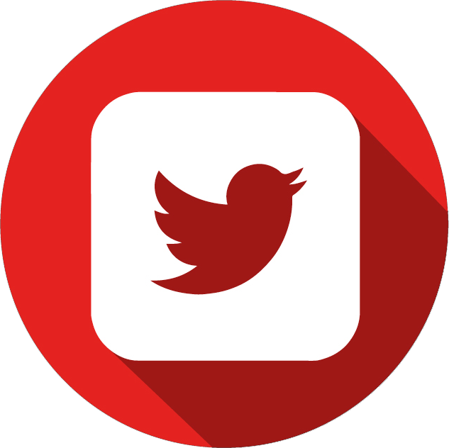 Red twitter png. Icon kiowa county press