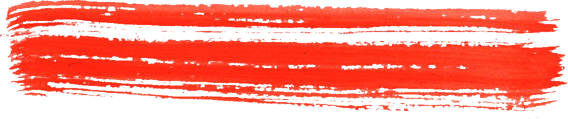 Red underline png. Dry watercolor brush