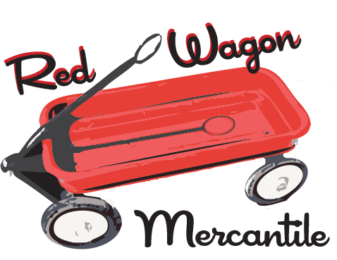 Red wagon png. Mercantile