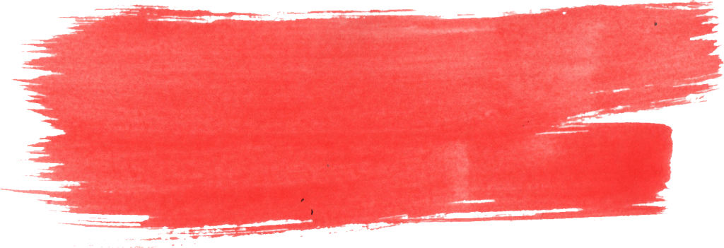 Red watercolor png. Brush stroke transparent