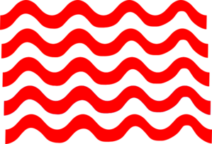 Red wave png. Lines clip art at