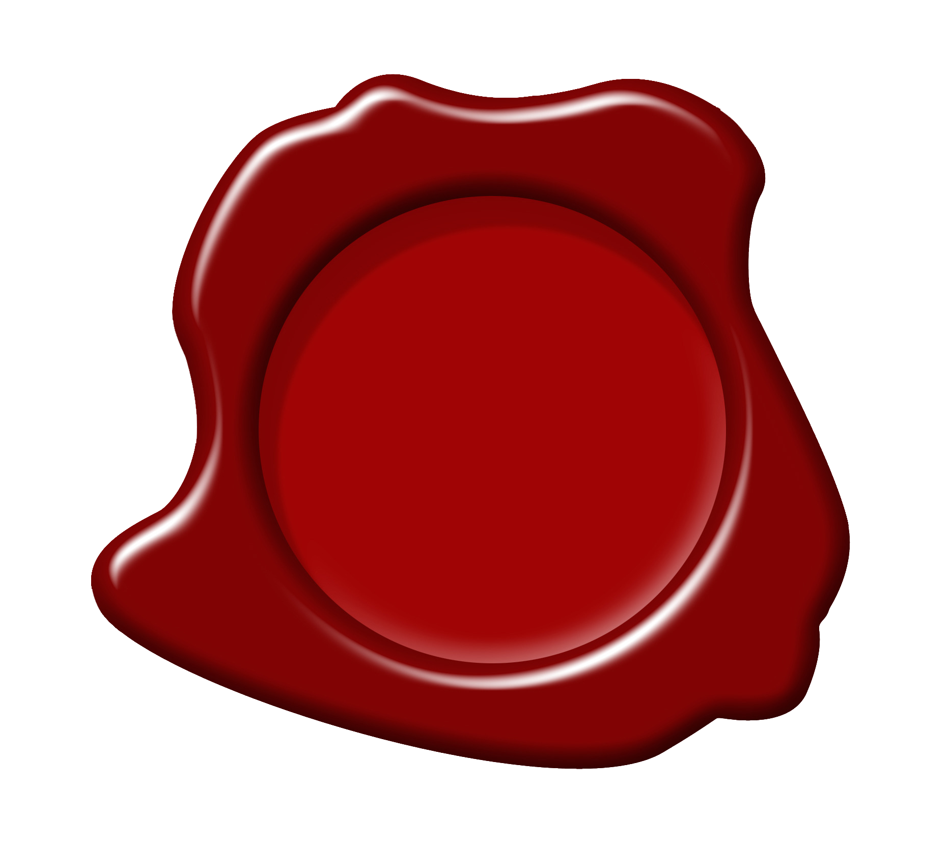 Red wax seal png. Circle font transprent free