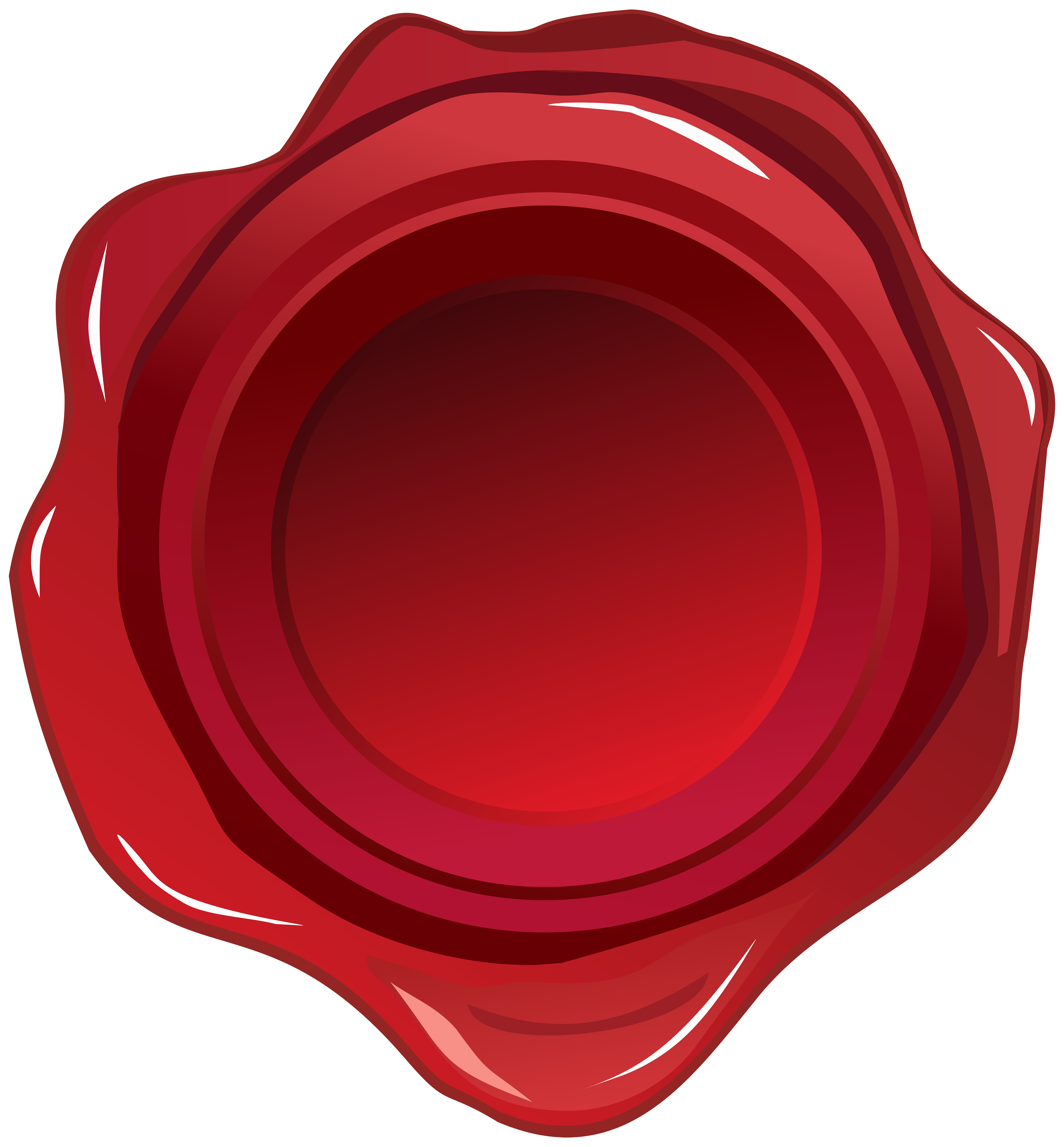 Red wax seal png. Clip art image gallery