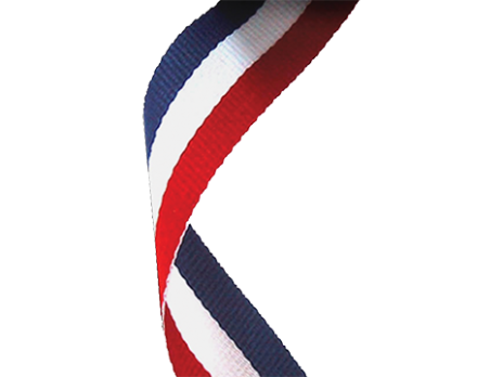 Red white blue png. Woven ribbon ribbons