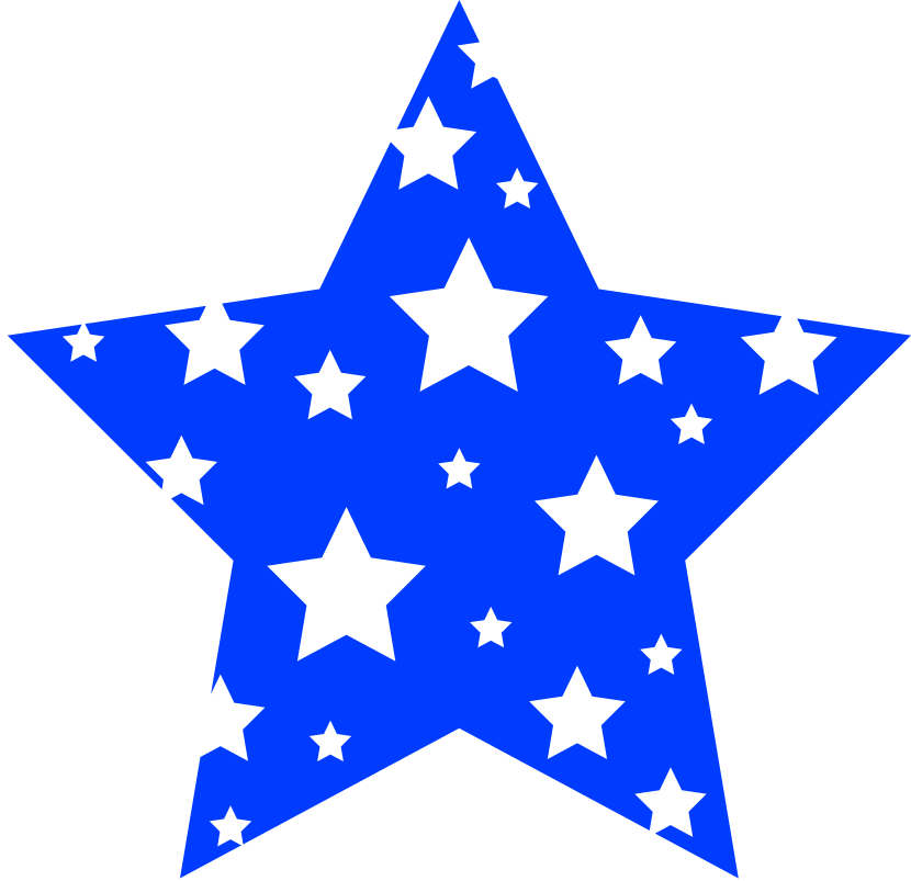 Red white and blue stars png. Clipart star border clipartioncom