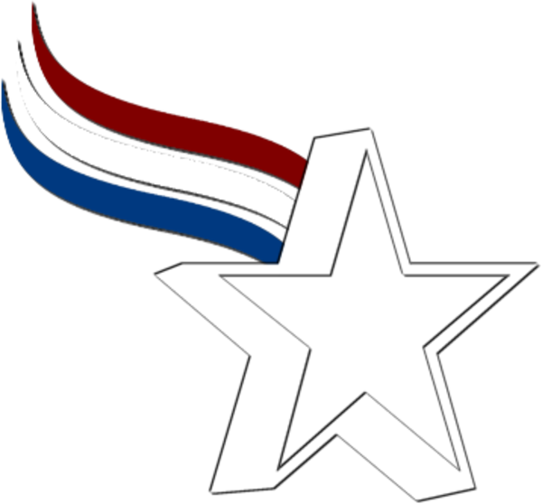 Red white and blue stars png. Star free images at