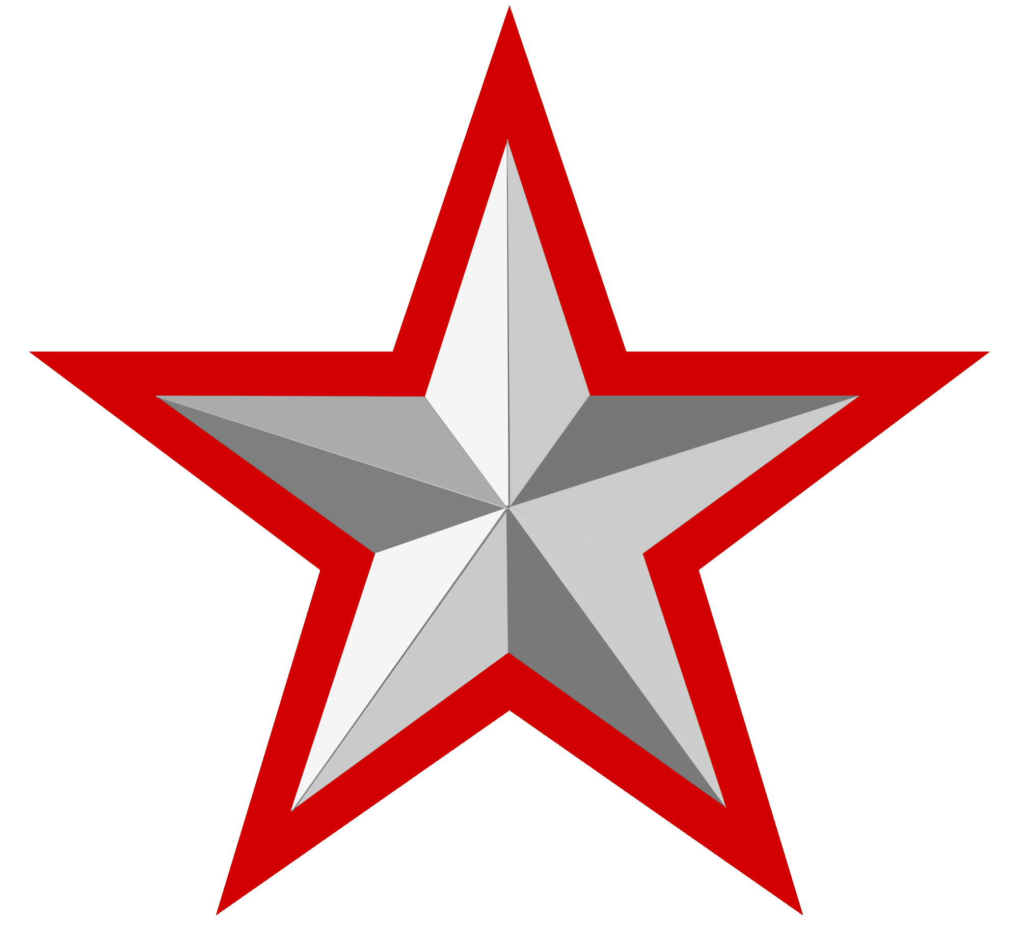Red stars png. File silver star with