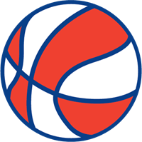 Red and white stripes png. Basketball logo vector ai