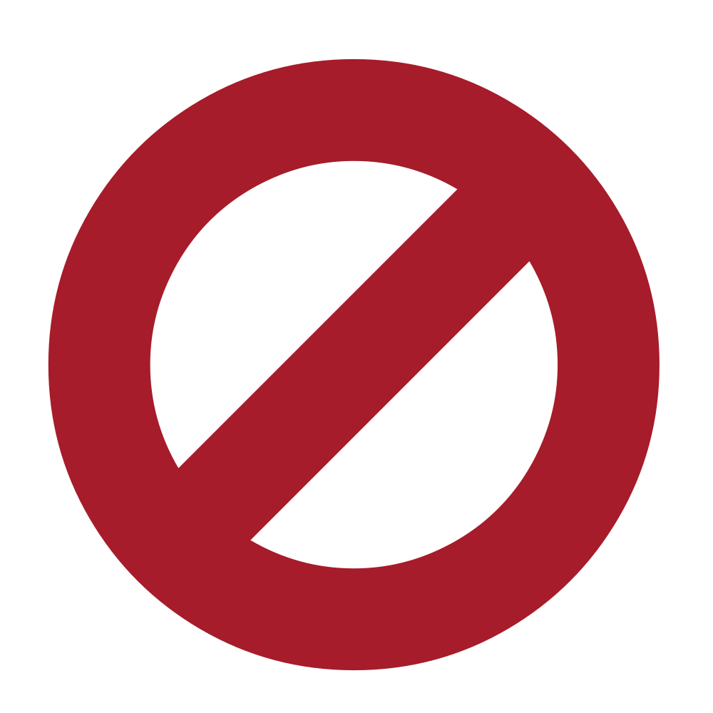Red x in circle png. File ban font awesome