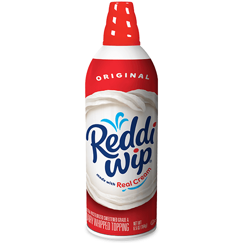 Reddi whip png. The original dairy whipped