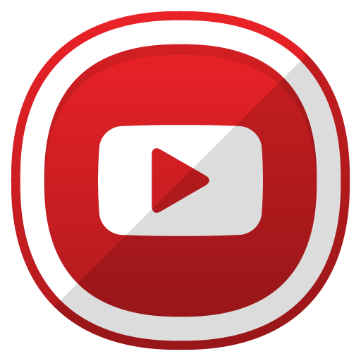 Redes sociales logos png. Icono youtube red social