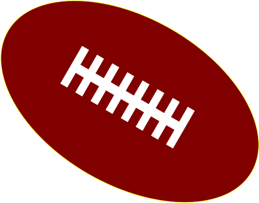 Redskins svg. File american football ball
