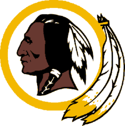Washington logopedia fandom powered. Redskins svg banner library library
