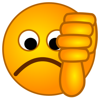 Emoji clipart thumbs up. Free down download clip