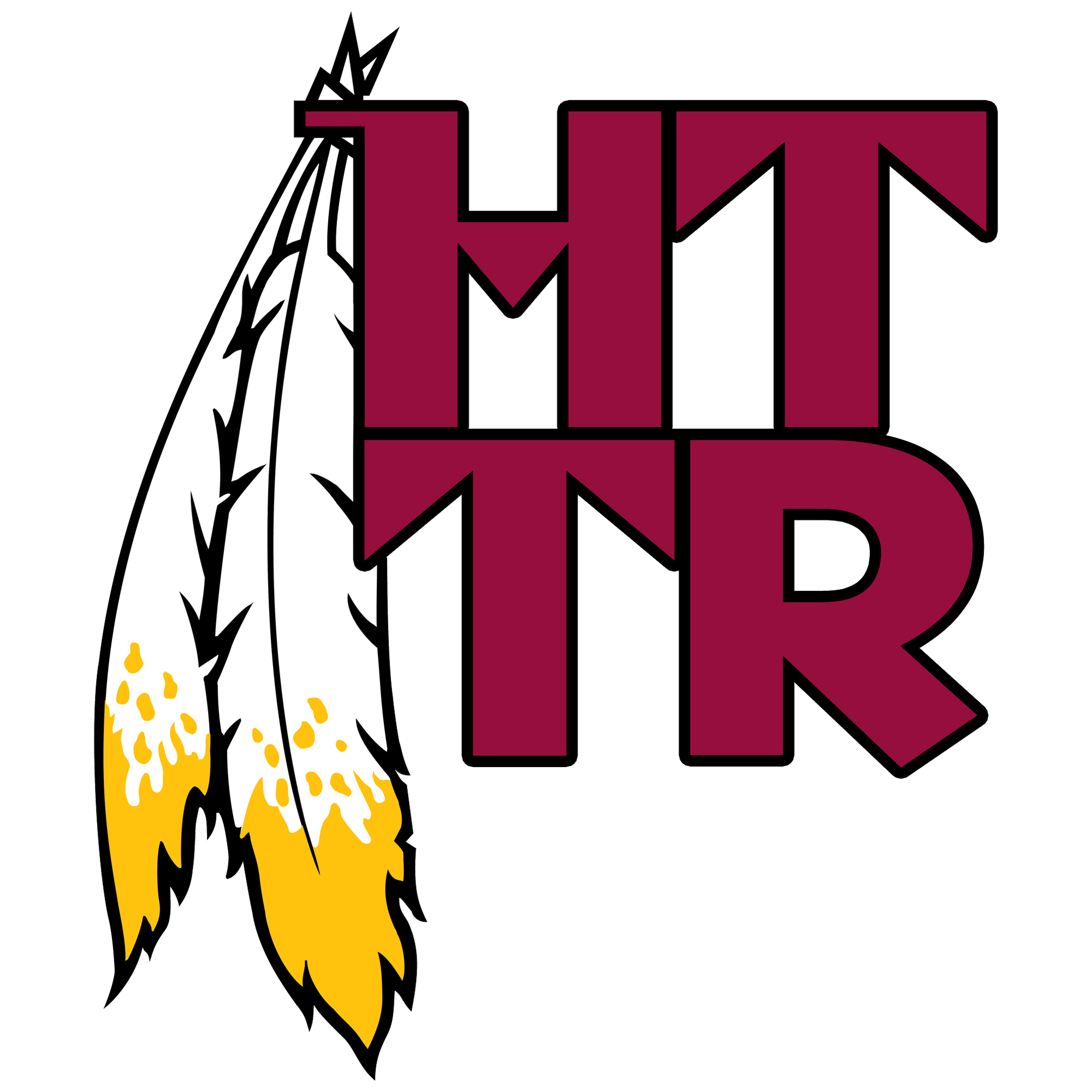 Redskins svg silhouette. Httr hail to the