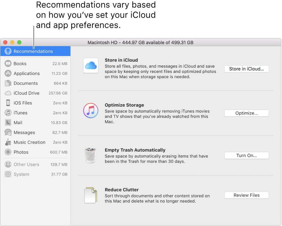 Reduce png file size mac. Optimize storage space on