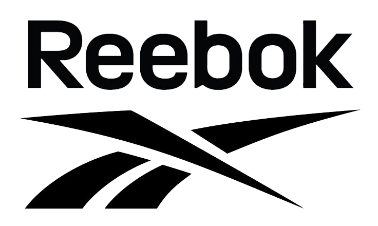 Reebok vector black and white. Logo png transparent images