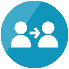 Refer a friend icon png. Free download share leesa