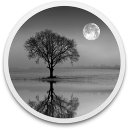 Reflect vector moon reflection. Studio generate reflections in