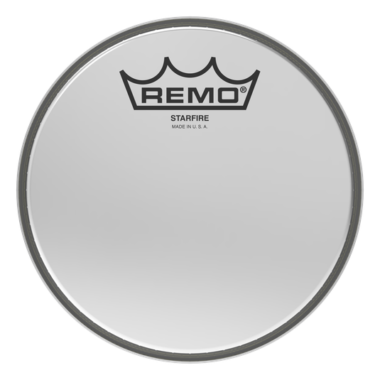 Ambassador starfire drumhead . Reflective drawing chrome graphic free