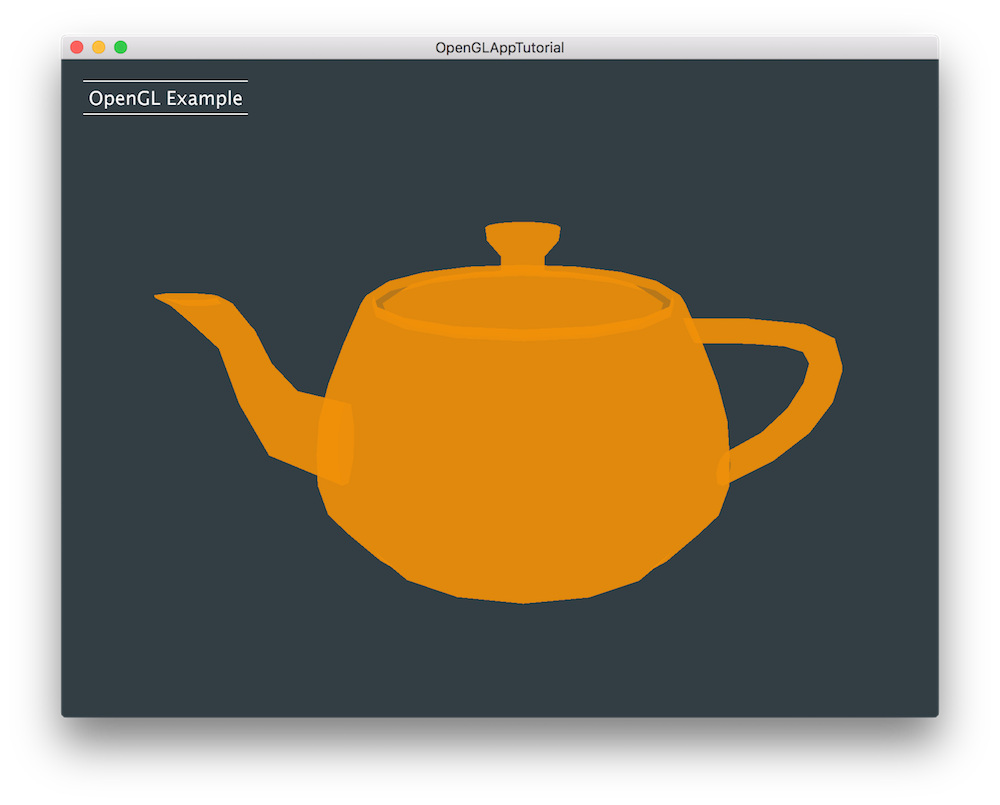 Reflective drawing kettle. Juce tutorial build an