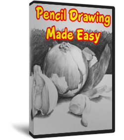 Reflective drawing scenery. Pencil made easy review
