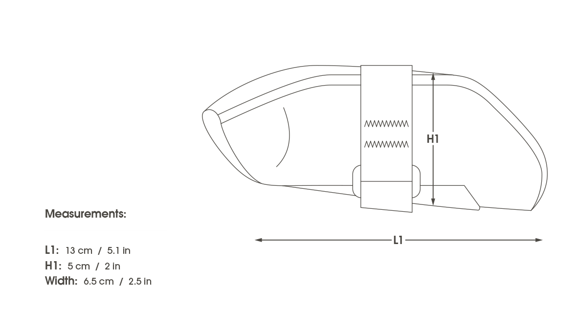 Reflective drawing simple. Apidura expedition tool pack