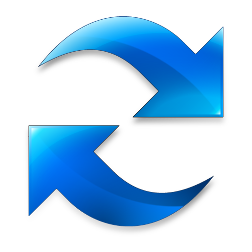 Refresh icon png. Blue button image royalty