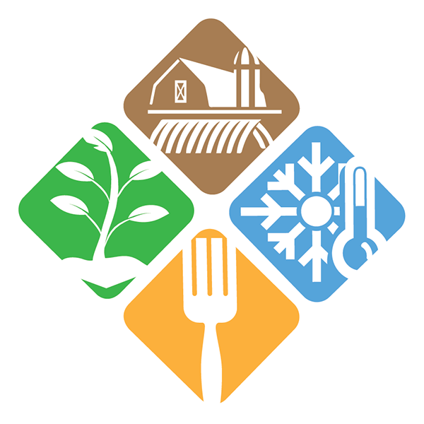 Refrigerator clipart frozen food. Refrigerated council new logo