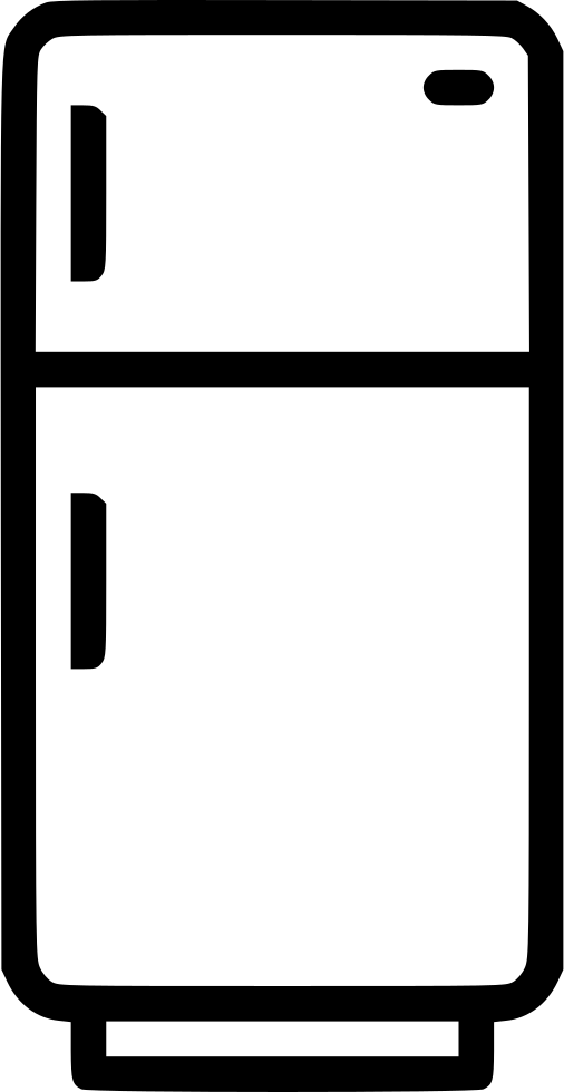 Refrigerator clipart rectangle object. Freezer fridge cold kitchen