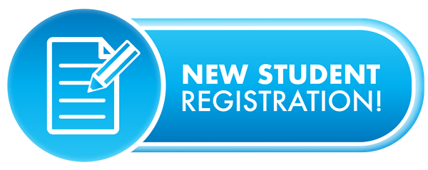 Registration buttons png. New students blue button