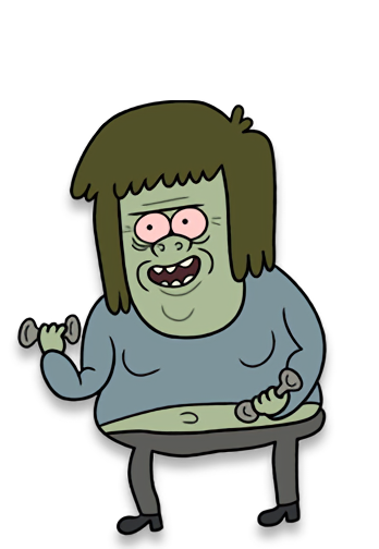 Regular show muscle man png. Wiki fandom powered by