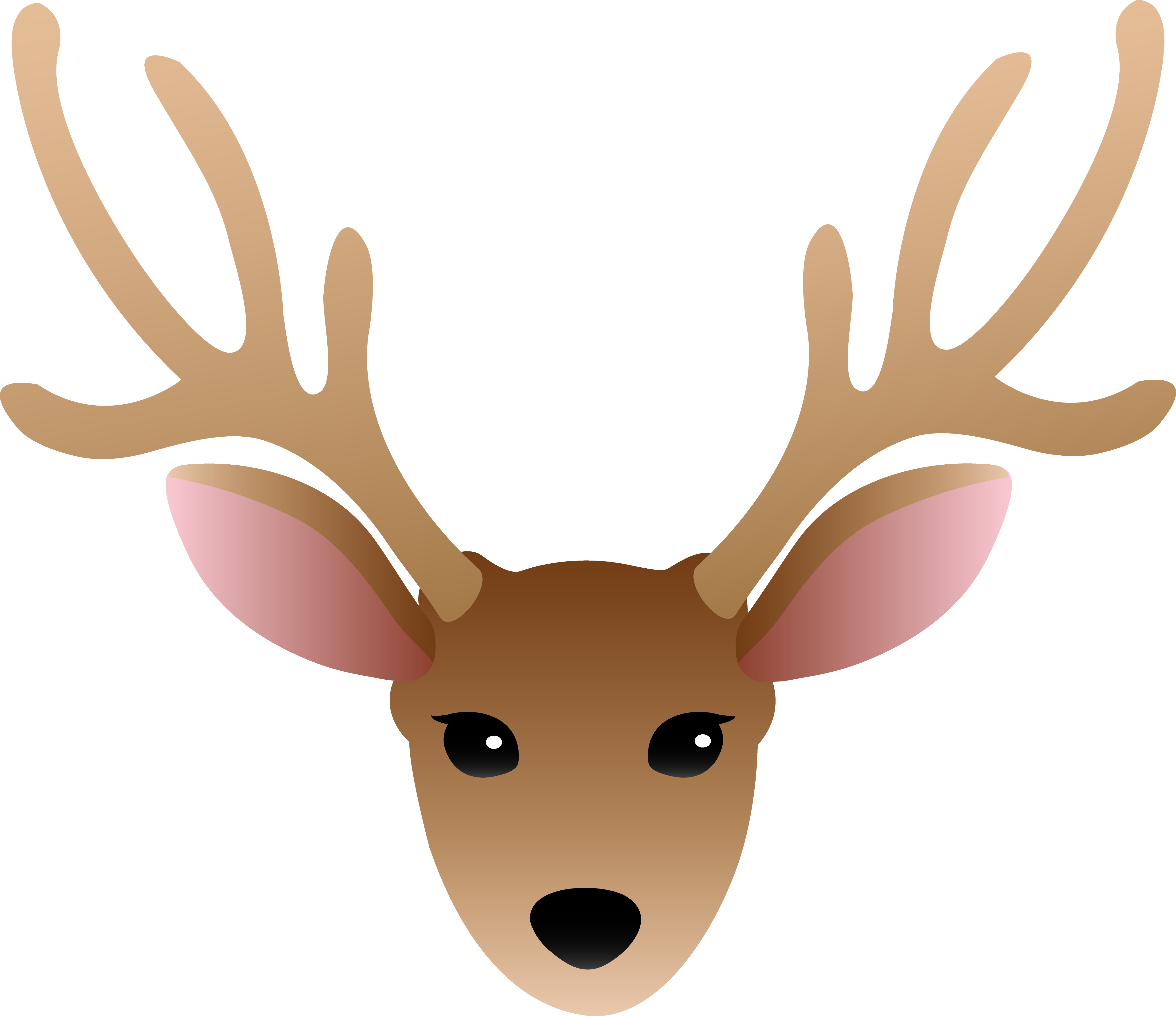Reindeer antlers headband png. Collection of drawing